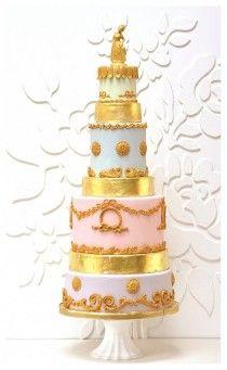 Marie Antoinette cake by Rosalind Miller