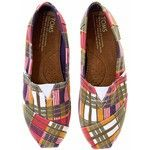 Plaid Shoes... Toms #nifty