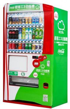 Coke Vending Machine That Uses No Power To Keep Cool - Nice.