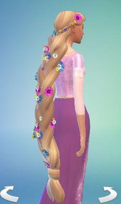 Disney Princess Hairstyles, Disney Princess Dresses, Disney Dresses, The Sims 4 Pc, Sims Cc, Sims 4 Mods Clothes, Sims 4 Clothing, Pelo Princesa Disney, Disney Princess Challenge