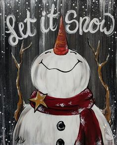 Pick a painting, invite your friends, and enjoy step-by-step instruction with our experienced and enthusiastic local artists. You'll leave with a one-of-a-kind creation and be ready to come back again. Christmas Wood Crafts, Christmas Canvas, Christmas Paintings, Christmas Signs, Christmas Art, Christmas Projects, Holiday Crafts, Christmas Decorations, Christmas Ornaments