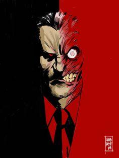 Two Face Batman, Joker Face, Batman Wallpaper, Batman Drawing, Batman Art, Dc Comics Characters, Dc Comics Art, Tim Drake Batman, Batman Robin
