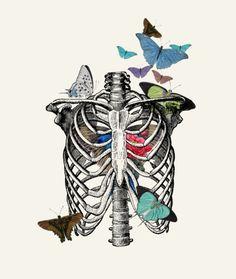 Image result for ribcage rib cage leonardo da vinci notebook drawing human anatomy medical photo jewelry keychain key ring chain charm pendant necklace
