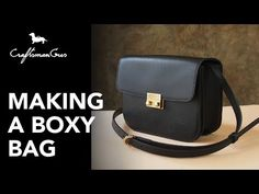 Hi guys, this time we made this episode about to make lady's boxy bag. Its need to work on a little more complex of bag's part. But if you guys work with veg. Leather Bag Tutorial, Leather Wallet Pattern, Leather Pouch, Leather Purses, Leather Bags, Leather Craft, Diy Clothes Bag, Leather Working Patterns, Videos