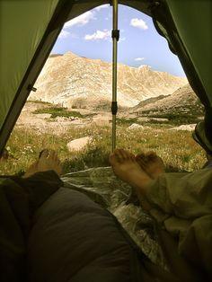 Jasontylerburton: Not Much To Improve Upon Here. A Tent Blue...