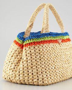 Idea - Prada style crochet bag