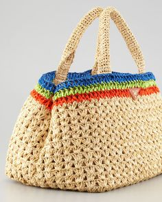 Idea - Prada style crochet bag <3