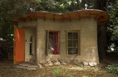 Cob House Made of Clay Sand Straw and Water Canada