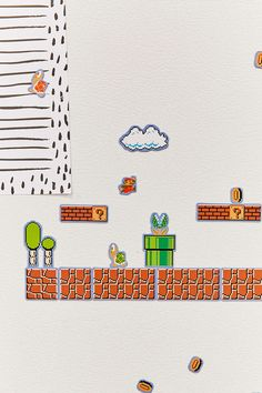 Ensemble d'aimants Super Mario Brothers Collectors Edition