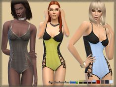 Sims 4 CC's - The Best: Underwear Tenderness by Bukovka