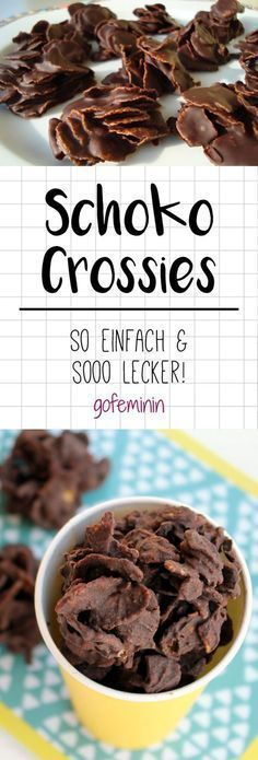 Schoko Crossies selber machen: DIESES Rezept ist sooo einfach!