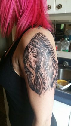 My newest tat inspired from one on here!!!!  Credit: Derek Meyers.....my brother