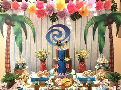 Sara's 6th Moana Birthday party | CatchMyParty.com