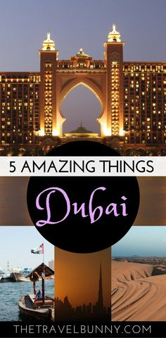 What to see and do in Dubai guide, United Arab Emirate #dubai #uae #travelguide #thetravelbunny #middleeast
