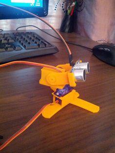 Ultrasonic 3D Scanner