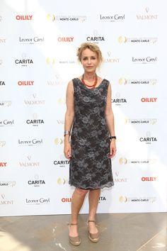 Fanny Cottencon - #Mc2014 #FestivaltvMonteCarlo #Carita #LeonorGreyl @LeonorGreyl #Valmont @Valmontcosmetic #Oilily.