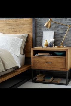 Definitely need to make this bed and side table. Very similar to the coffee…