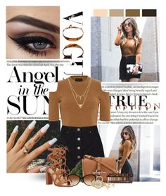 """""""Bronze"""" by doonnas ❤ liked on Polyvore featuring Seed Design, Exclusive for Intermix, Miss Selfridge, Crate and Barrel, Givenchy, Urban Decay, Burberry, Edge of Ember, Michael Kors and women's clothing"""