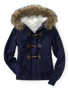 Cute Coats – Best Jackets for Winter - Seventeen - Fleece Toggle Jacket