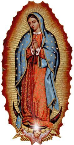 Nuestra Señora de Guadalupe  Diciembre 12    La Virgen Santísima se apareció en el Tepeyac, México, a san Juan Diego  el martes 12 de dici...