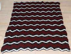 Crochet blanket/Hæklet tæppe