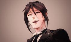 Kuro-von-shitsuji — I'm a simple creature; Seb flashes his teeth and I...