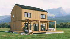 Kärntenhaus 4.0 BIRKE. Variation 3. Mehr Infos unter office@kaerntenhaus.com. Office, Modern, Shed, Outdoor Structures, Cabin, House Styles, Home Decor, Birch, House
