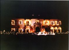 Holiday Lights at Cuneo Museum