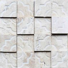 Brogliato Revestimentos - Coleções - Print - Tile Beige - 30x30cm.