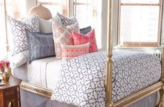 pattern on pattern bedding - Google Search