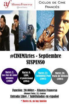 #cineMARTES - Septiembre