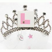 Bride To Be L Plate Flashing Tiara with Veil Bride To Be Sash, Hen Party Accessories, Hens Night, Team Bride, Personalized T Shirts, Gift Bags, Veil, Plate, Random