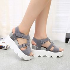 Women's Summer High Heel Sandals – Best Of Likes Share Strappy Sandals Heels, Sport Sandals, Wedge Shoes, Sandals Outfit, High Sandals, Gladiator Sandals, Summer Sandals, Casual Heels, Luxury Shoes