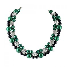Attractive Beads Embellished Women's Necklace #CLICK! #clothing, #shoes, #jewelry, #women, #men, #hats, #watches