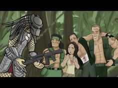 How Predator Should Have Ended  i never saw the movie but i love the hishe.