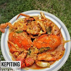 No photo description available. Food N, Food And Drink, Indonesian Cuisine, Indonesian Recipes, Padang, Seafood Recipes, I Foods, Asian Recipes, Love Food