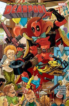 Deadpool #2, A story filled with mystery, humor, and action,  #All-Comic #Comics #DanLeicht #Deadpool #Deadpool#2 #GerryDuggan #Leicht #Marvel #MarvelComics #marveldeadpool #MikeHawthorne #TerryPallot #ValStaples