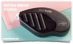 VIDEO: New Stampin Up Fast Fuse Adhesive- a must for my scrapbooking!