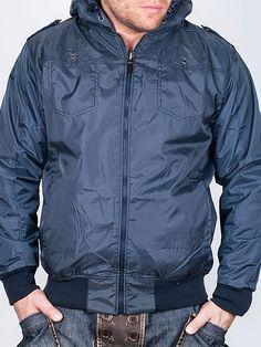 Мъжки Пролетно-есенни Якета - Тъмно синьо двулицево яке Comp - цена 59.00 лв.