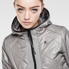 G-Star RAW | Women | Jackets-coats | Quilt Overshirt , Heron