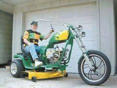 Redneck Power Mower