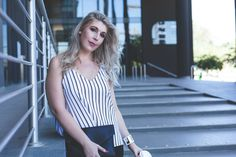 [STYLE]: Stripes In The City – The Glam Green Girl