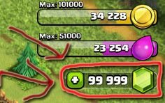 Latest released version of Clash of Clans hack tool