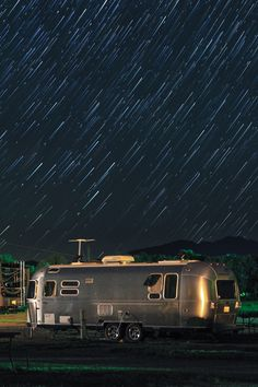 "500px / Photo ""Airstream startrails"" by Doug Kellogg"