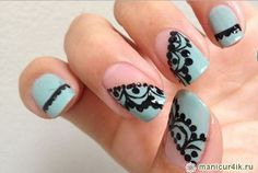 Fashionable design nail – fall-winter 2013-2014 (photo) by 2013 nails, nail design, nail pictures, … on SheSaidBeauty