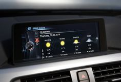 BMW is rolling out its innovative ConnectedDrive in-car services system across its range from March and April production, meaning the first versions are now in Australia. Connection, Bmw, Cars, Weather, Photos, Pictures, Vehicles, Autos, Weather Crafts