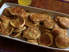 Grain-Free Foodies: Light and Fluffy GAPS Intro Diet Pancakes with Lemon Honey Syrup Gaps Diet Recipes, Scd Recipes, Dairy Free Recipes, Real Food Recipes, Yummy Food, Paleo Diet, Healthy Food, Healthy Eating, Paleo Food