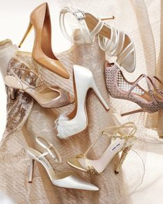 A killer pair of shoes is a must-have on your wedding day