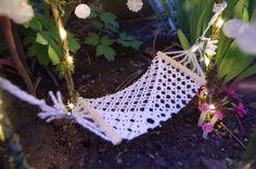 Fairy Garden Hammock Miniature Fairy Garden Faery Garden Gnome Planter