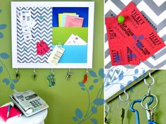 Pretty Pinboard | Sew4Home
